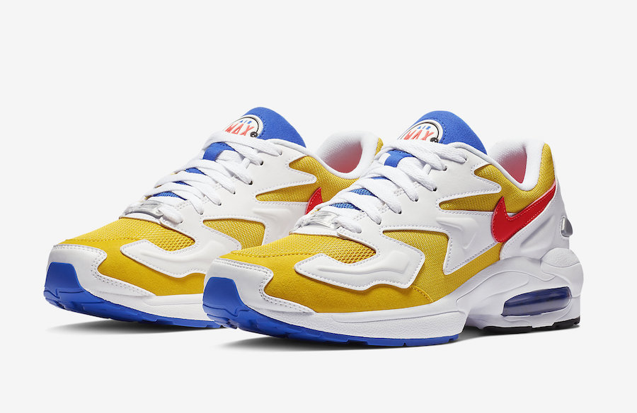 Nike Air Max2 Light University Gold AO1741-700 Release Date ...