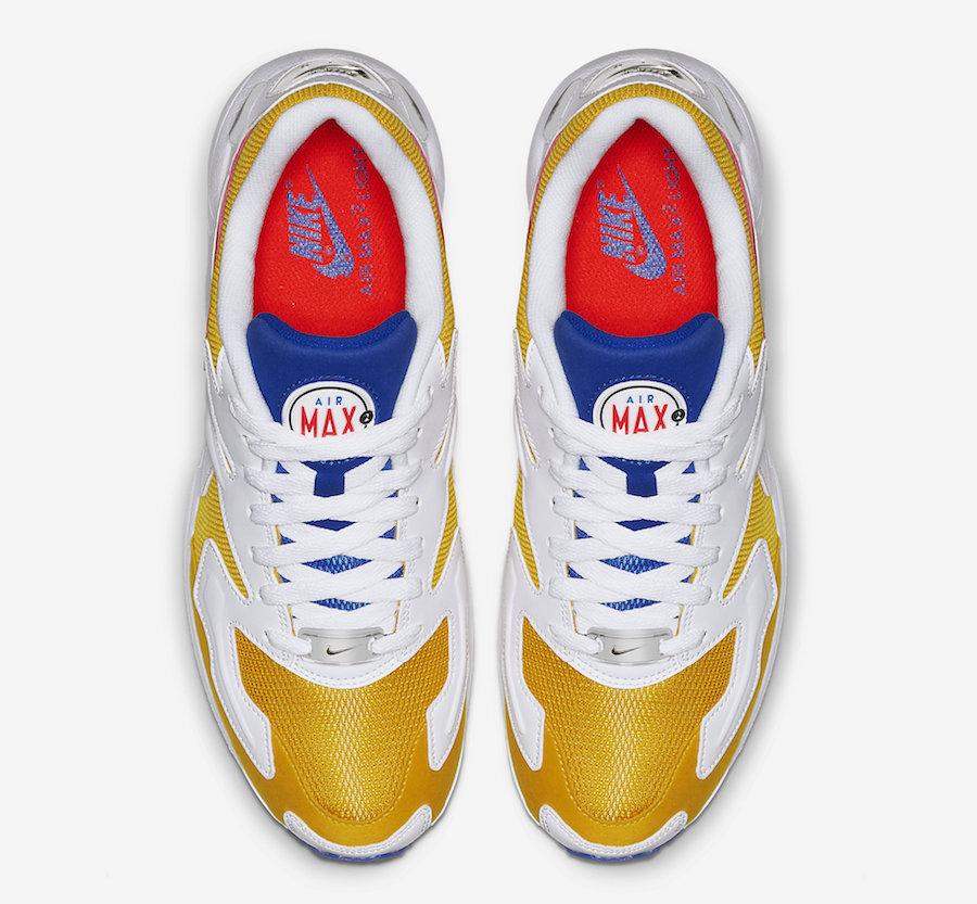 Nike Air Max2 Light Retro University Gold AO1741-700