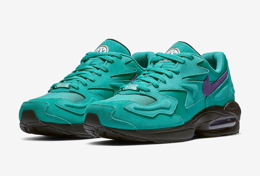 release date: 976a0 55add Nike Air Max2 Light Reverse Grape Teal Purple AO1741-300 Release Date