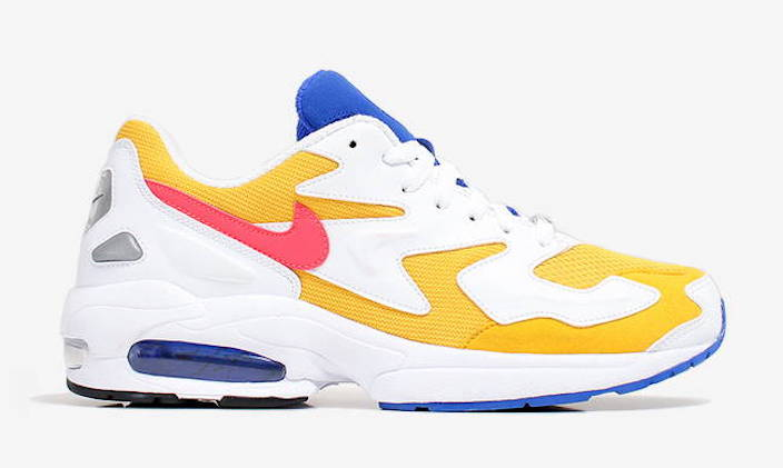Nike Air Max2 Light University Gold AO1741-700 Release Date
