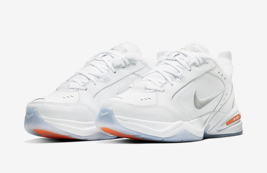 Nike Air Monarch 4 Snow Day AV6676-100 Release Date