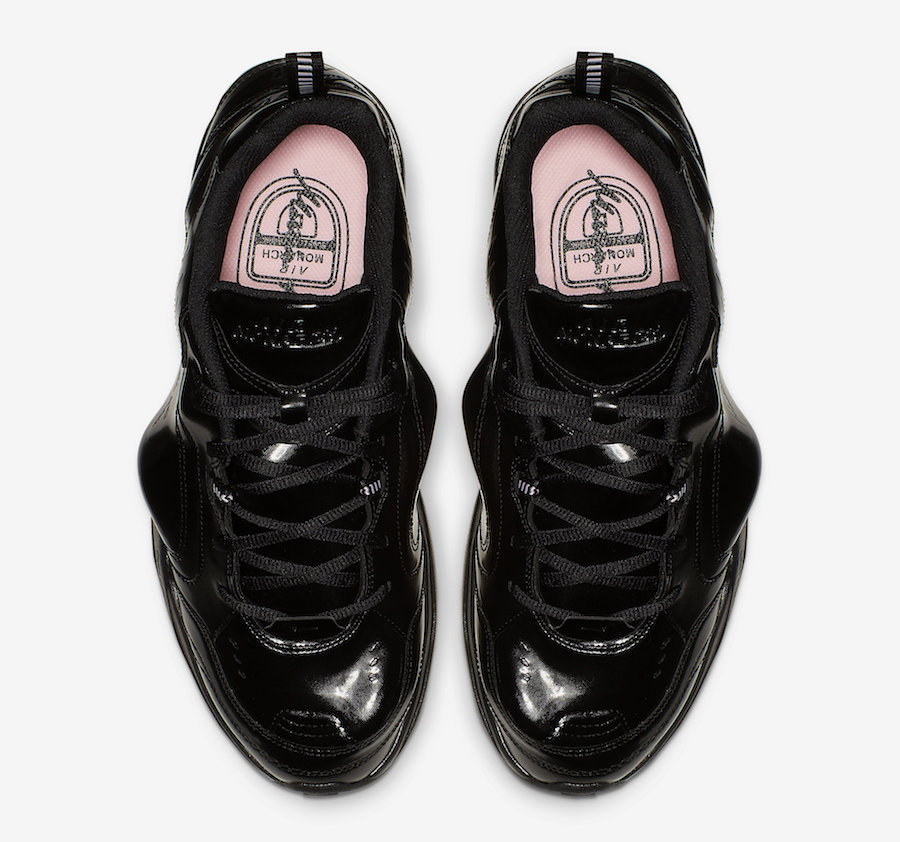 Nike Air Monarch Martine Rose Black AT3147-001 Release Date