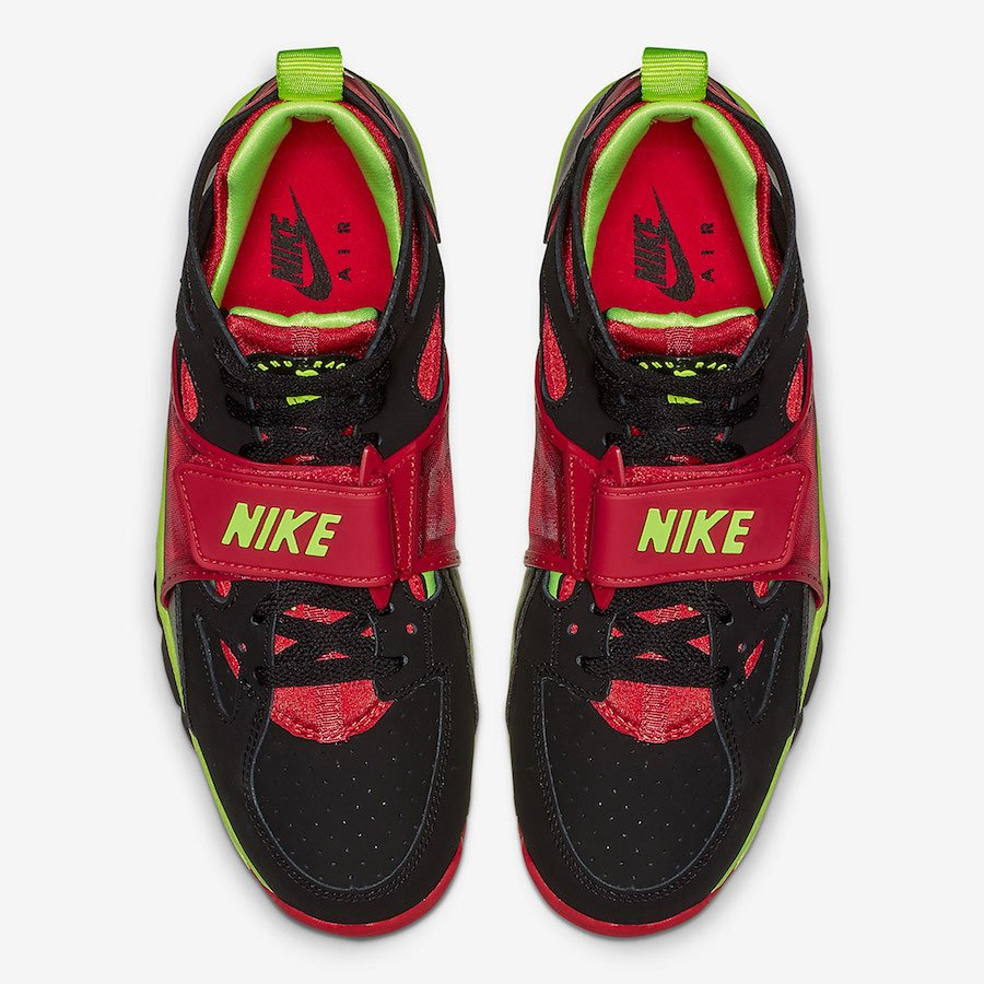 Nike Air Trainer Huarache Black Volt Red 679083-020