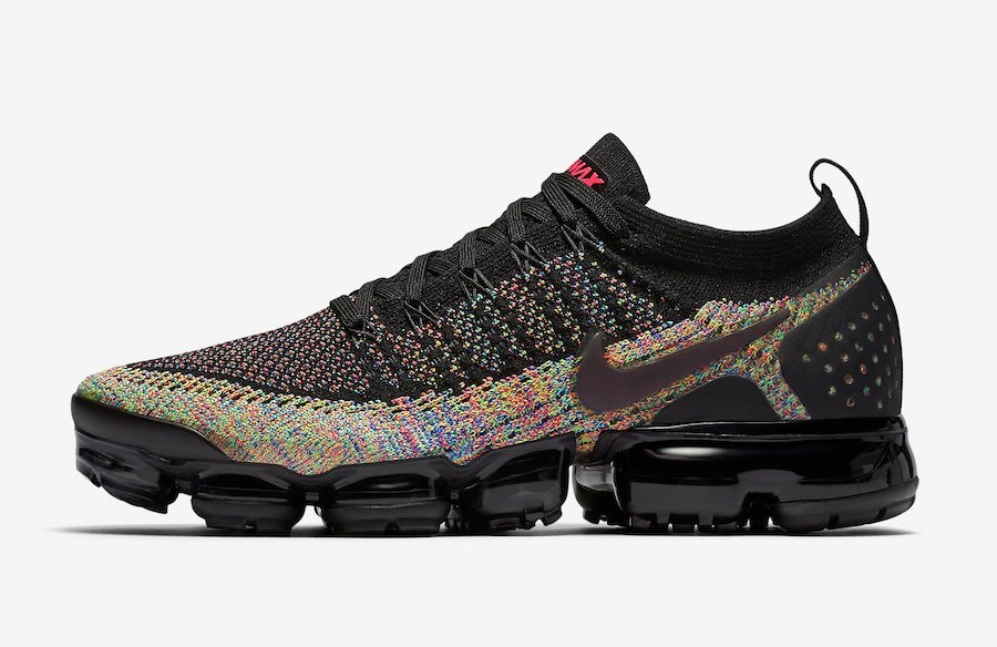 Nike Air VaporMax 2.0 Black Multicolor 942842-017 Release Date