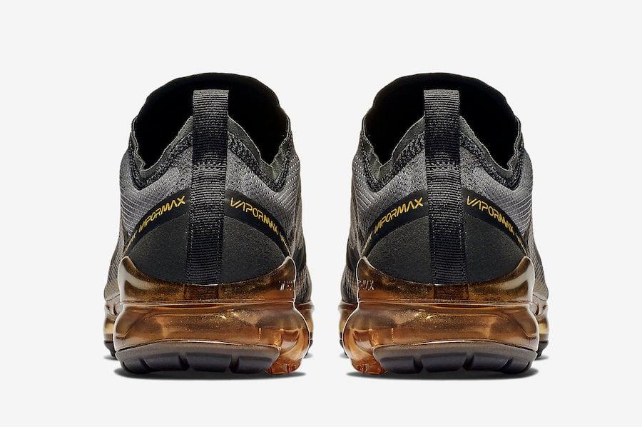 Nike Air VaporMax 2019 Black Gold AR6631-002 Release Date