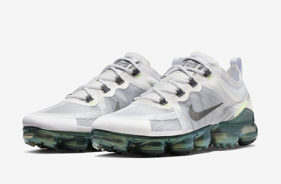 Nike Air VaporMax 2019 PRM White Lime Blast AT6810-100 Release Date