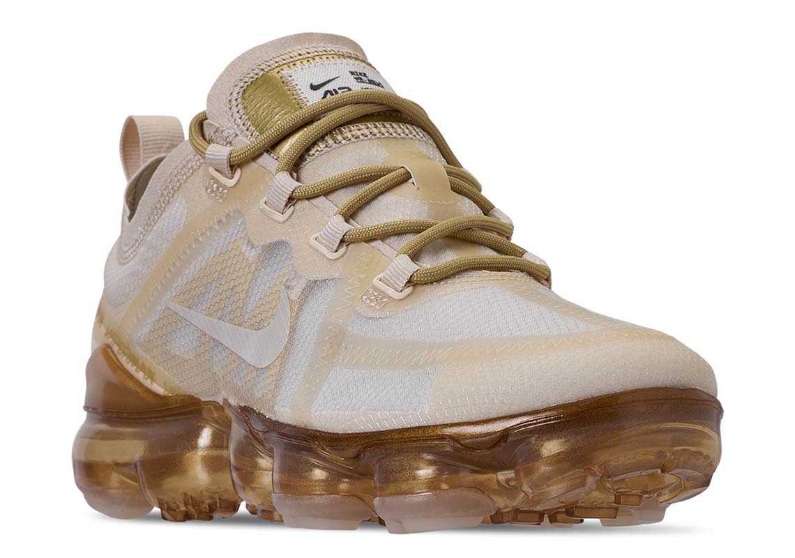 Nike Air VaporMax 2019 White Gold AR6632-101 Release Date
