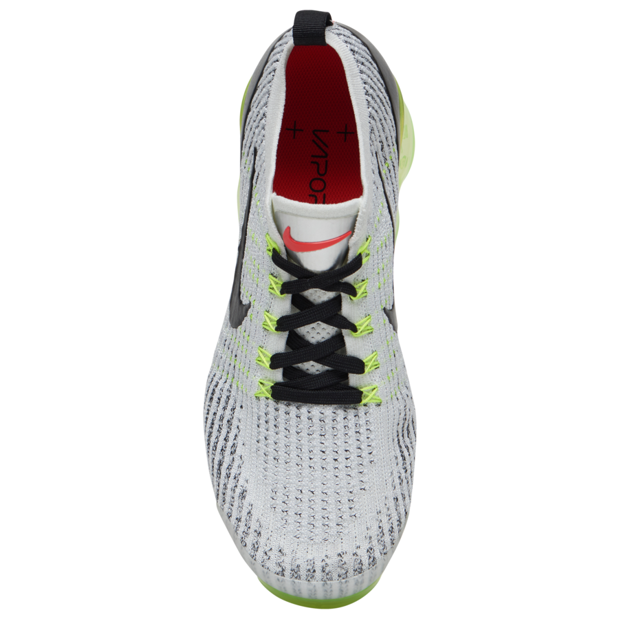 Nike Air VaporMax 3.0 White Volt Black Crimson AJ6900-100 Release Date
