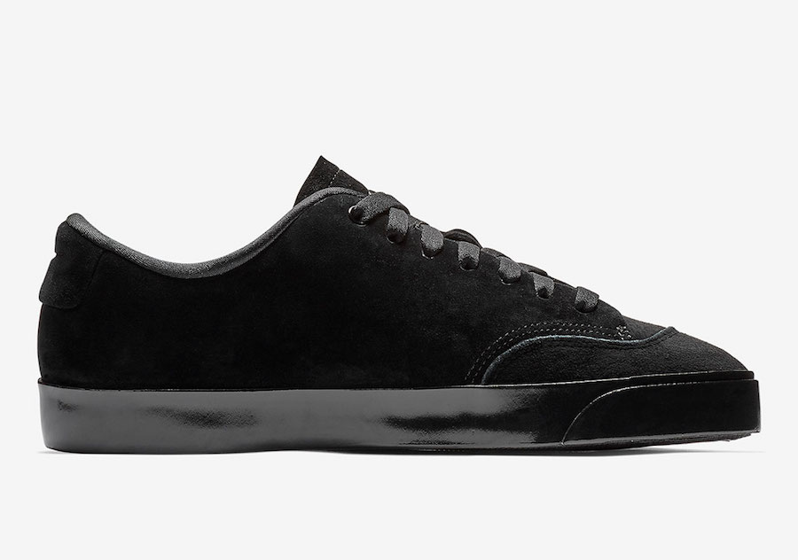 Nike Blazer City Low Triple Black AV2253-002 Release Date