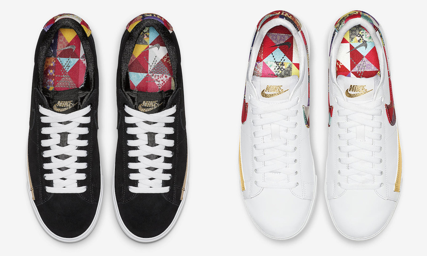 Nike Blazer Low Chinese New Year Black White Release Date