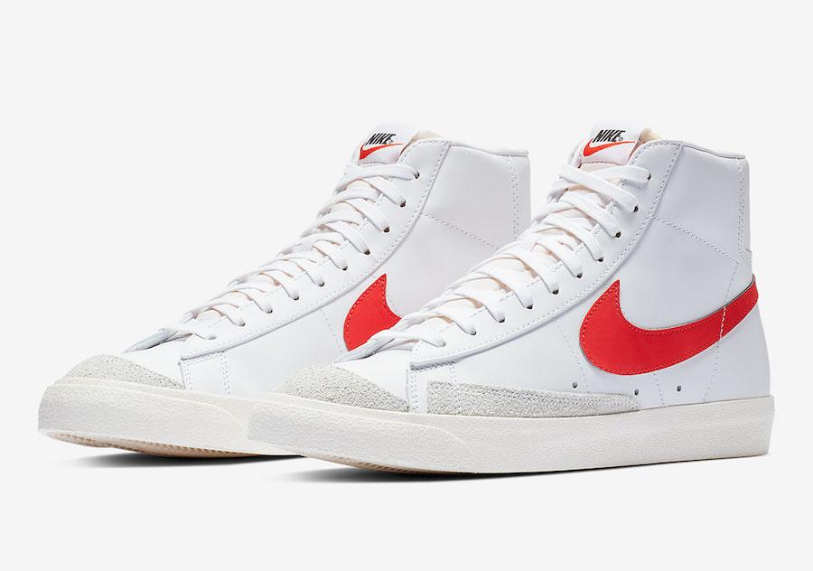 Nike Blazer Mid 77 Vintage Habanero Red BQ6806-600 Release Date