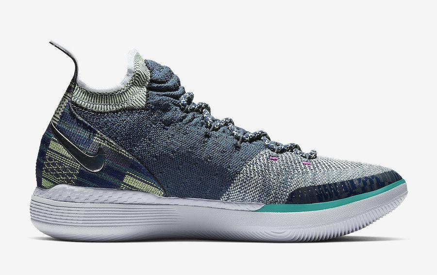Nike KD 11 BHM Black History Month BQ6245-400 Release Date