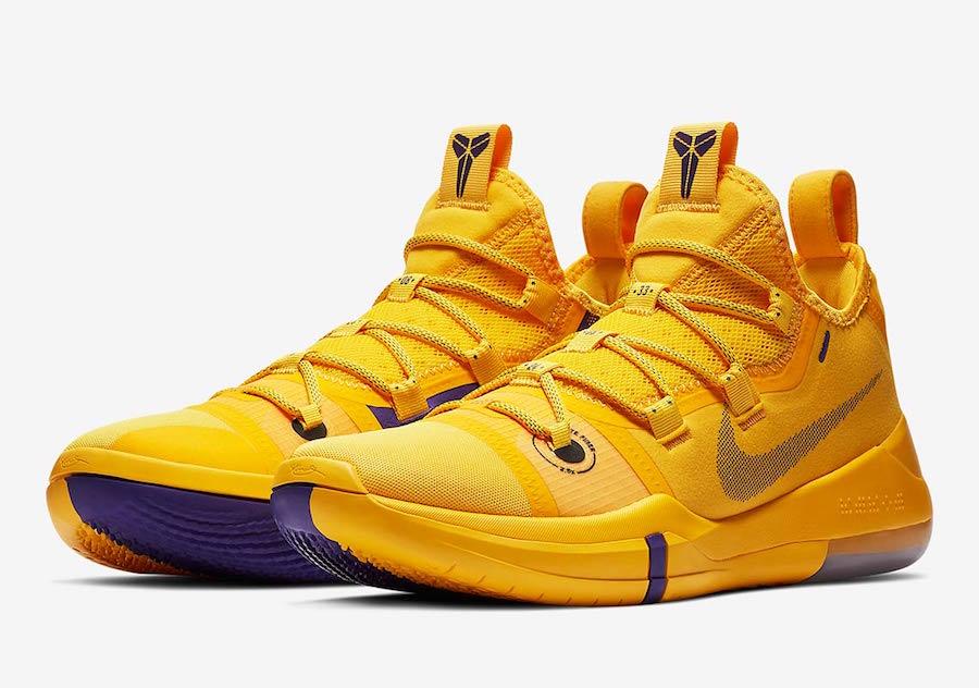 Nike Kobe Ad Lakers Pack Ar5515 500 Ar5515 700 Sneakerfiles