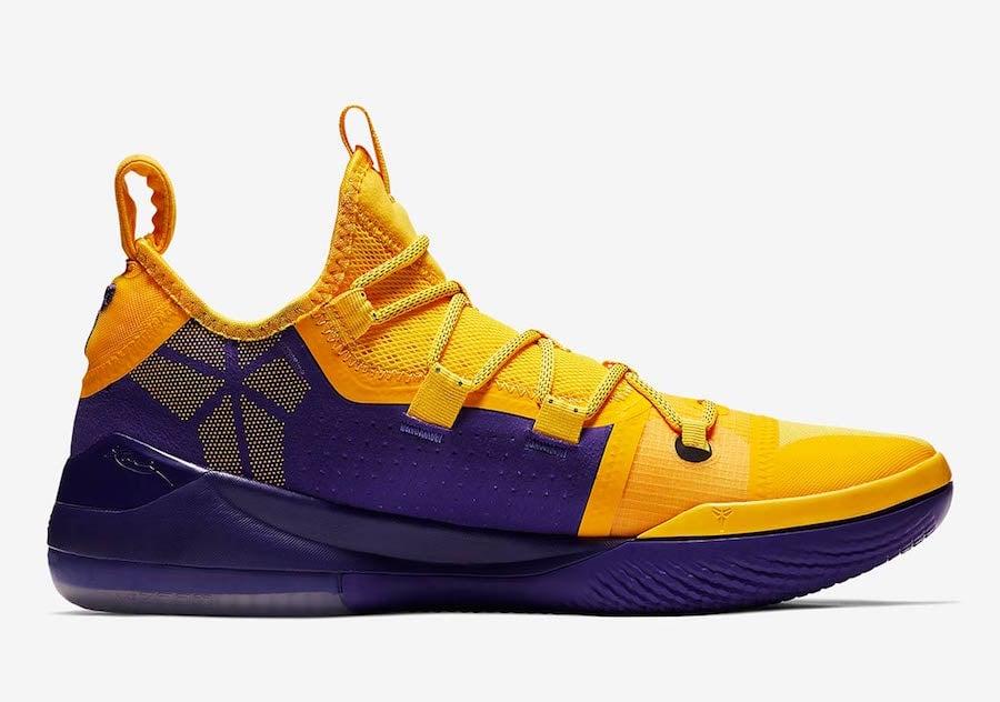 Nike Kobe AD Lakers Gold Yellow AR5515-700