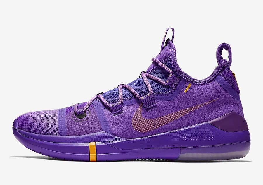 Nike Kobe AD Lakers Purple AR5515-500