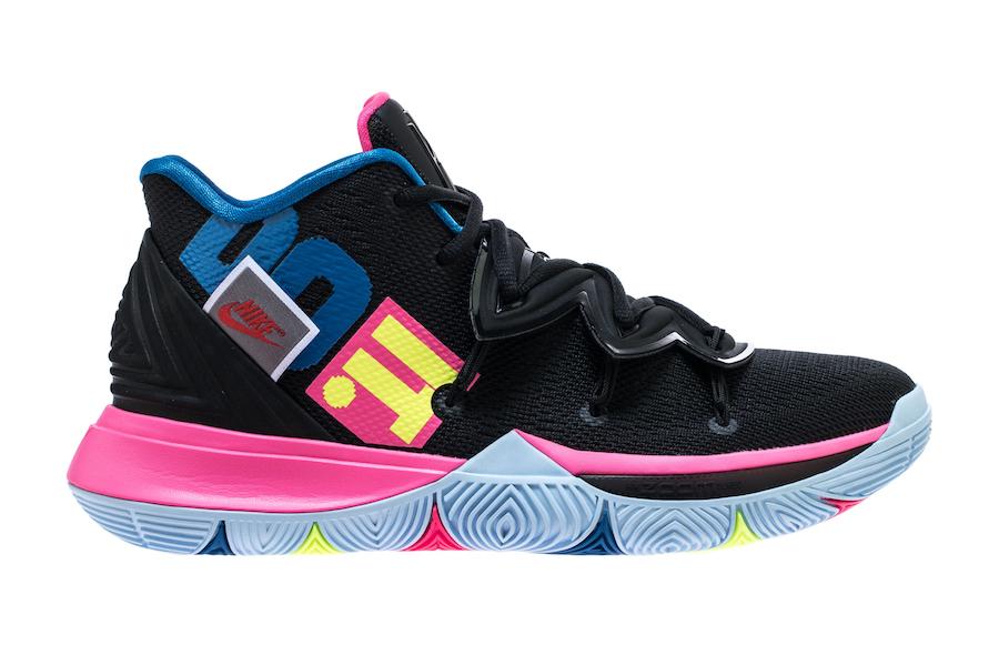 Nike Kyrie 5 Just Do It AO2918-003 Black Volt Hyper Pink