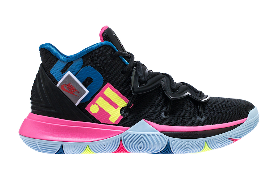Nike Kyrie 5 Just Do It AO2918-003 Black Volt Hyper Pink e5c2951008c