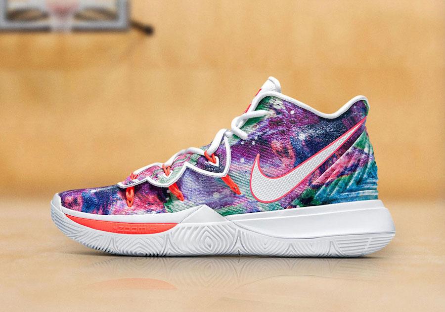 Nike Kyrie 5 PE Neon Blends Release Date