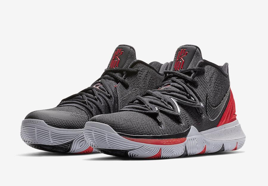 Nike Kyrie 5 University Red Black AO2919-600 Release Date