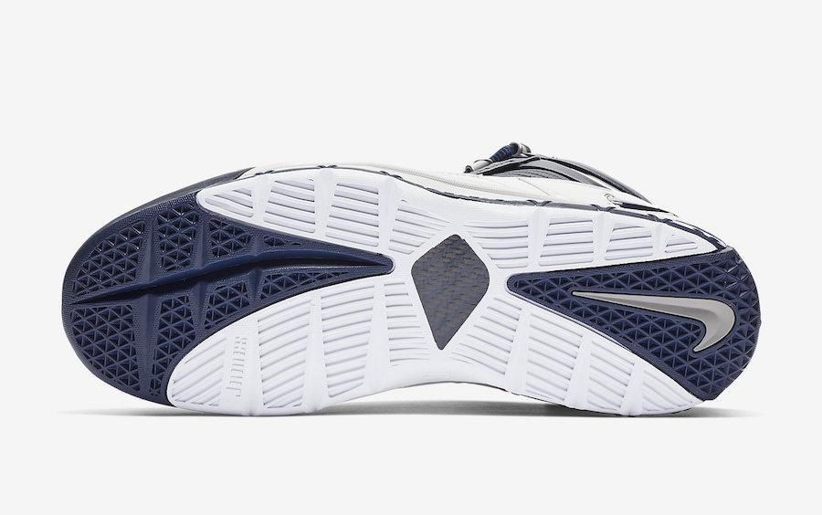 Nike LeBron 3 OG Retro White Navy AO2434-103