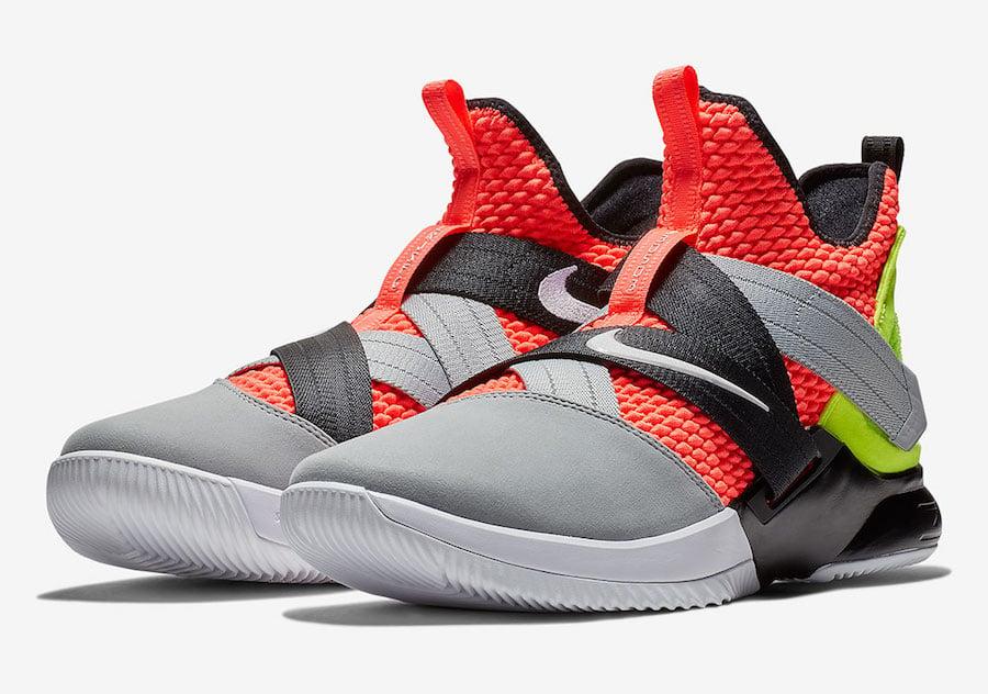 Nike LeBron Soldier 12 Hot Lava AO4054-800