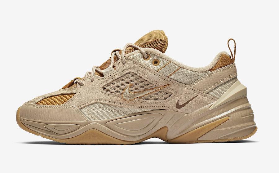 Nike M2K Tekno Corduroy Linen Wheat Ale Brown BV0074-200 Release Date