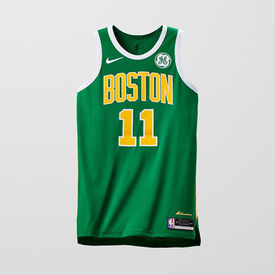 Nike NBA Earned Edition Uniforms Celtics