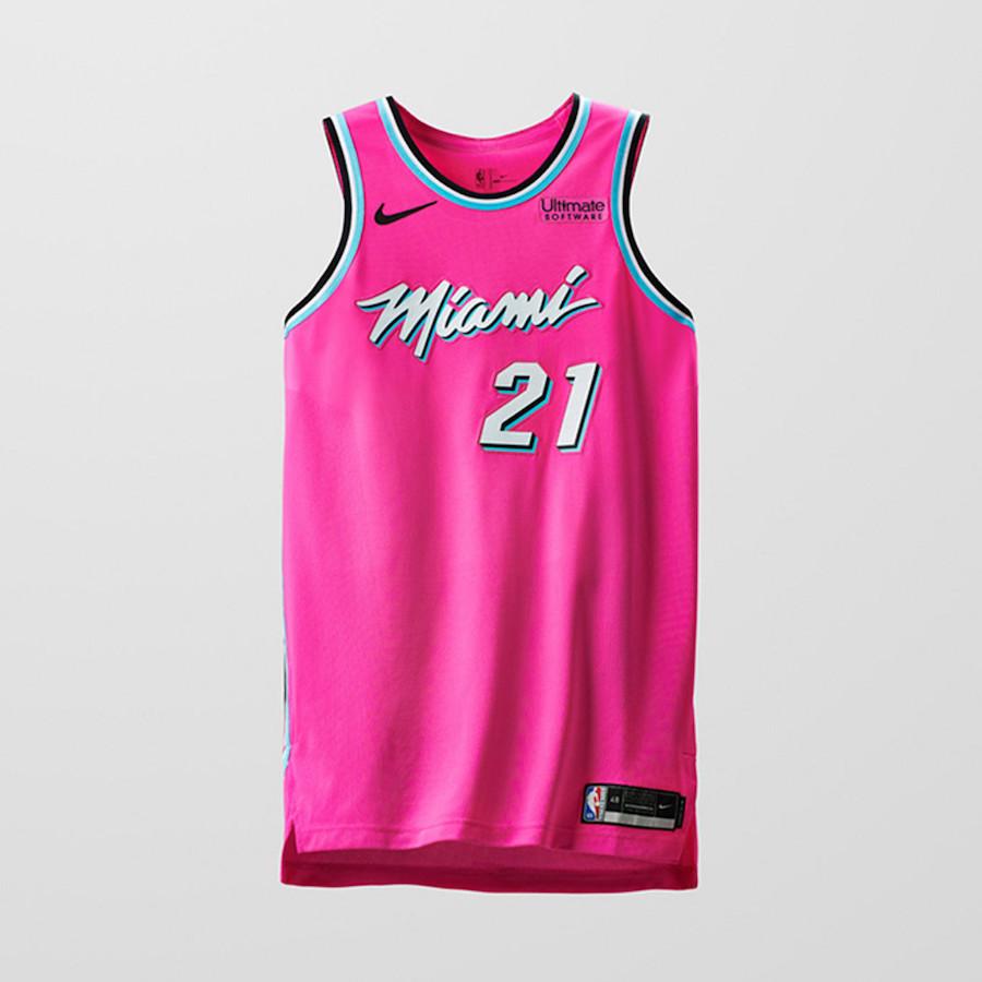 Nike NBA Earned Edition Uniforms Heat