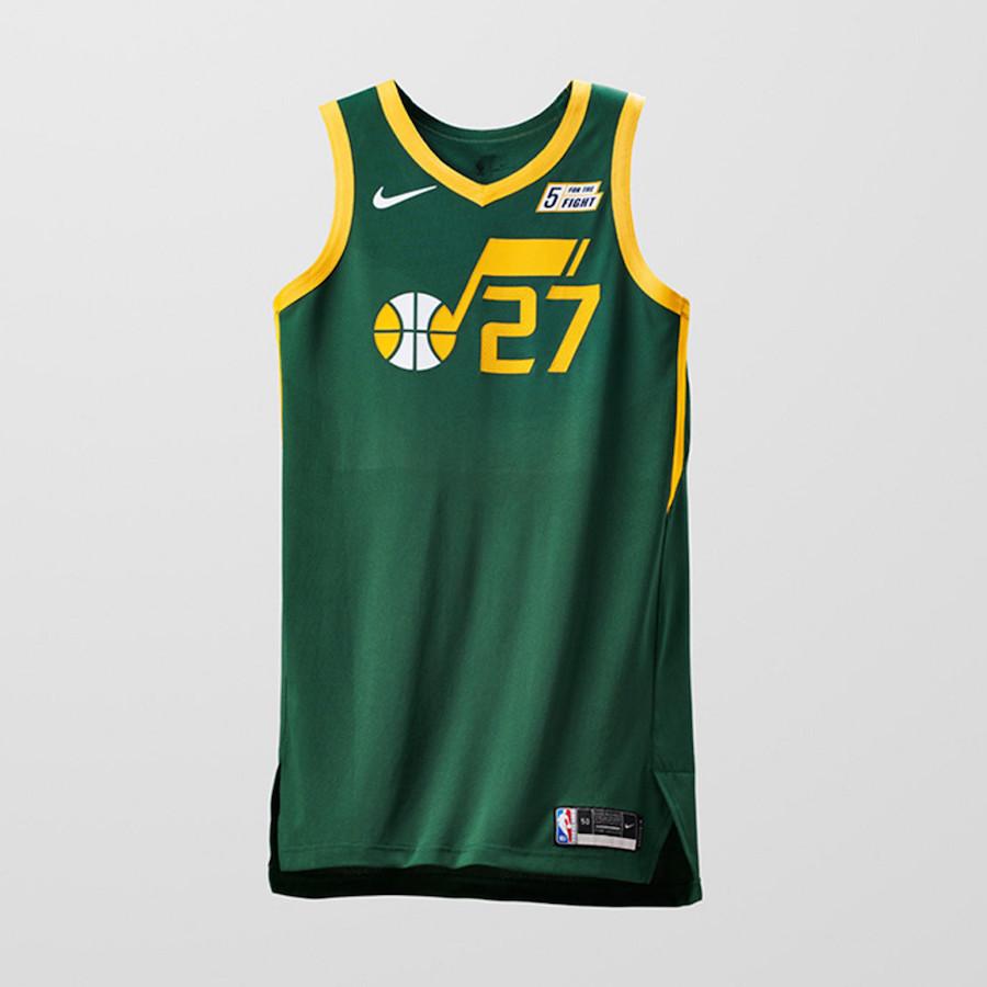 Nike NBA Earned Edition Uniforms Jazz