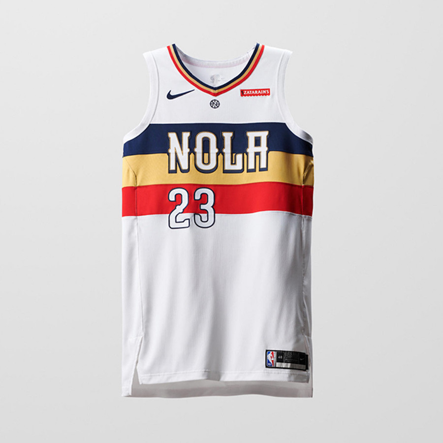 Nike NBA Earned Edition Uniforms Pelicans