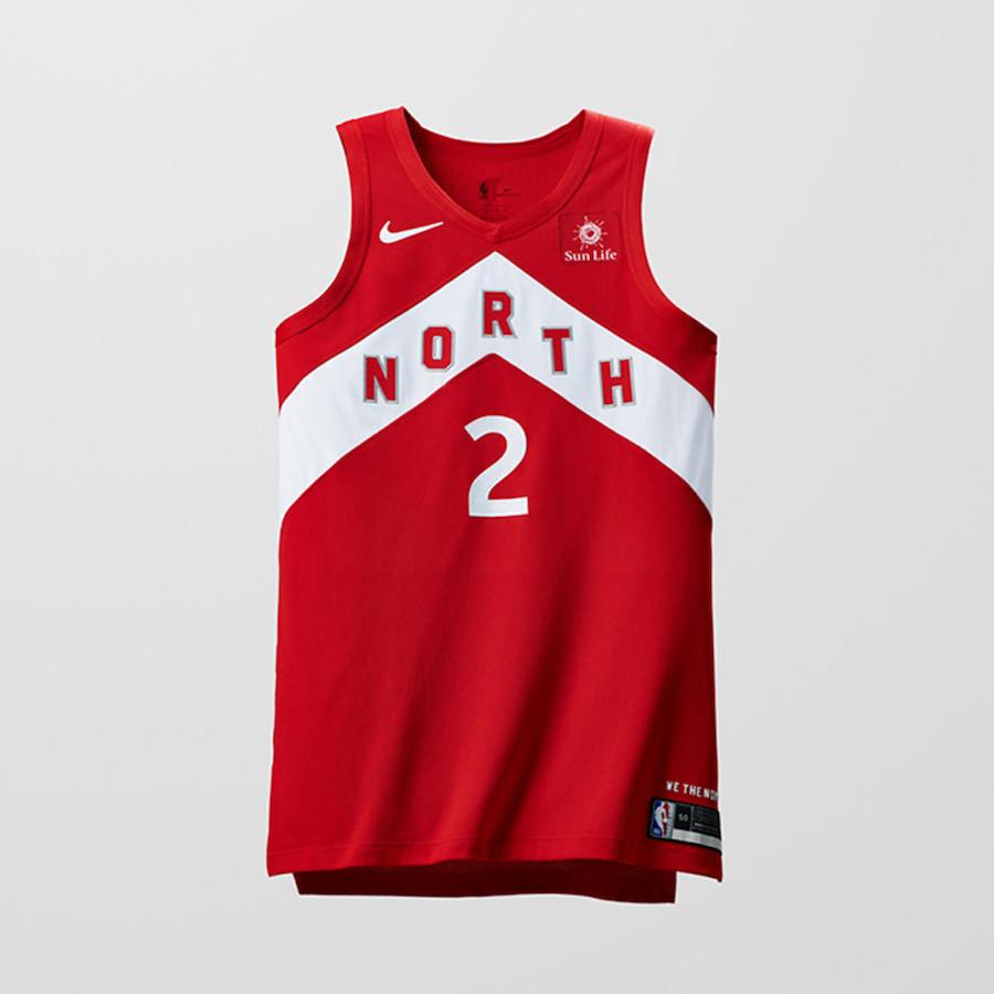 Nike NBA Earned Edition Uniforms Raptors