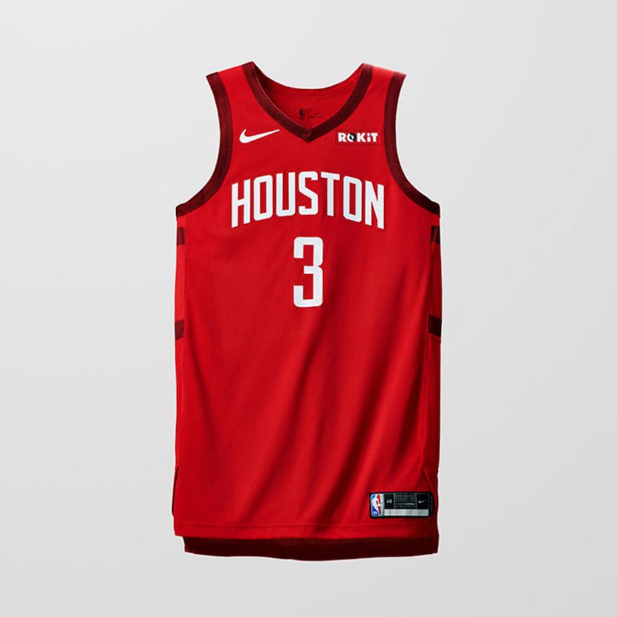 Nike NBA Earned Edition Uniforms Rockets