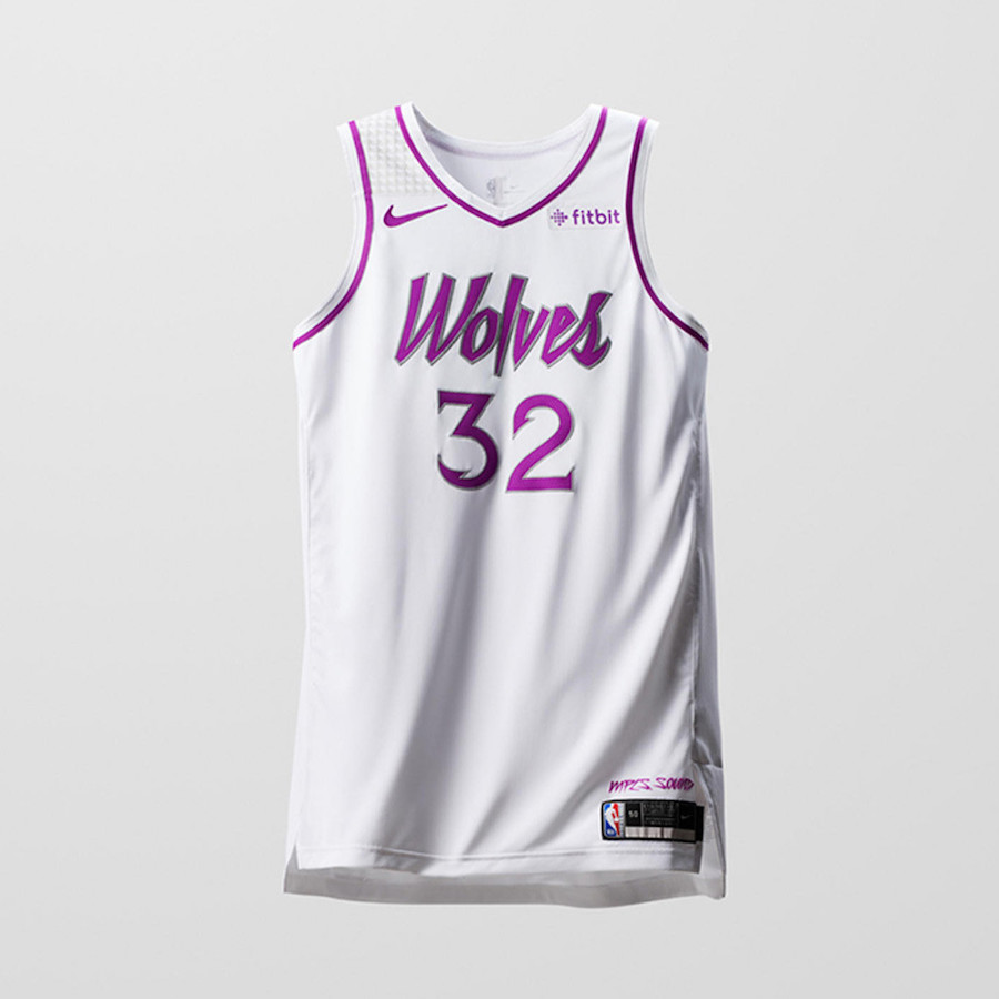 Nike NBA Earned Edition Uniforms Timberwolves