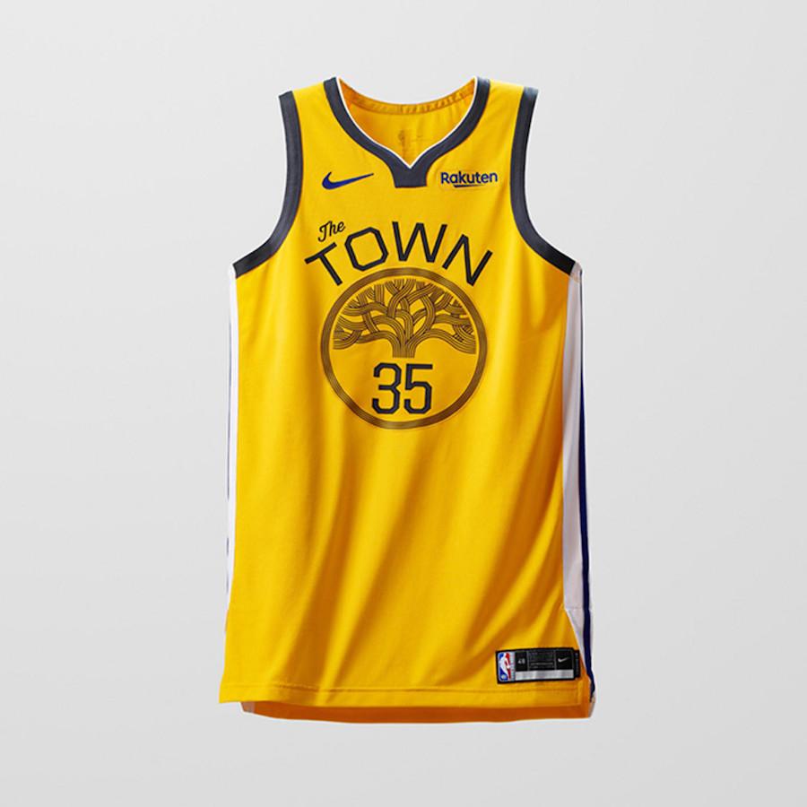 Nike NBA Earned Edition Uniforms Warriors