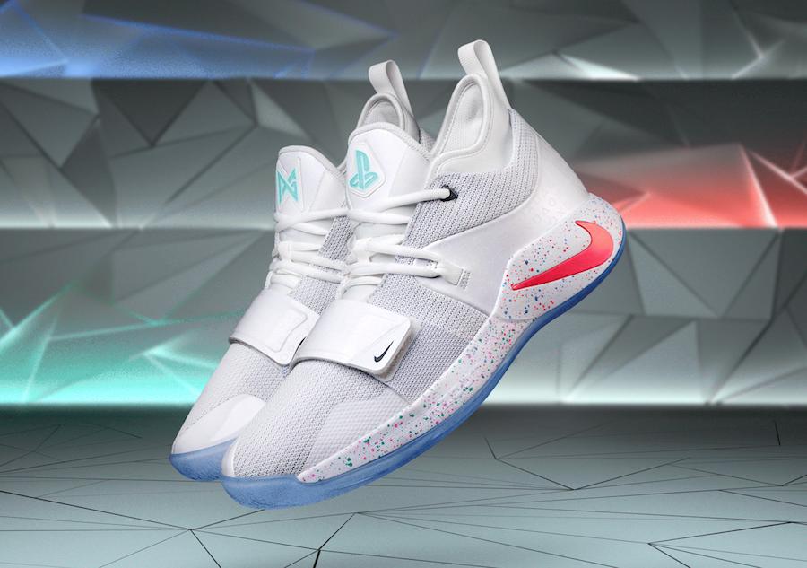 5caa808eae9b9 PlayStation Nike PG 2.5 White BQ8388-100 Release Date | SneakerFiles