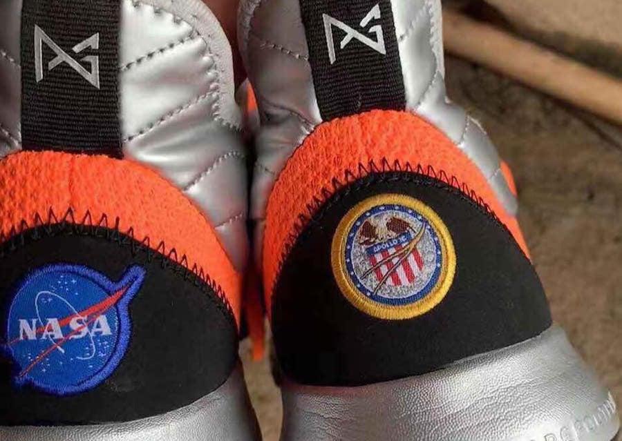 Nike PG NASA Apollo Orange Release Date