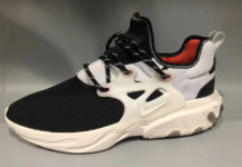 Nike Presto React Black White Red