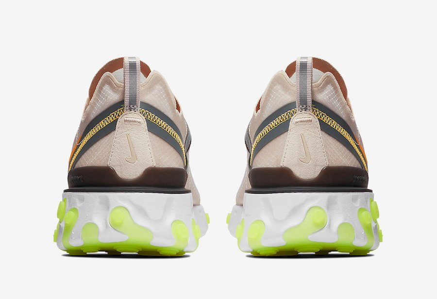 Nike React Element 87 Light Orewood Brown AQ1090-101 Release Date