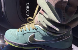 Nike SB Dunk Low Green Lobster Concepts Travis Scott
