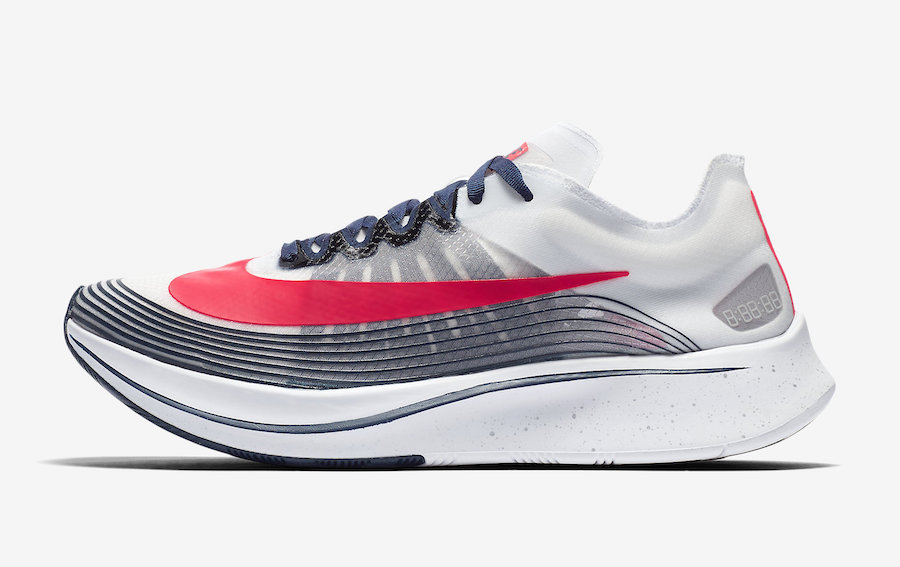 Nike Zoom Fly Red White Blue CD6616-146 Release Date