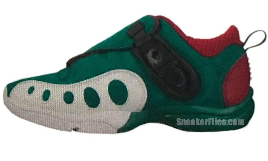 Nike Zoom GP Retro Mystic Green Team Crimson AR4342-300