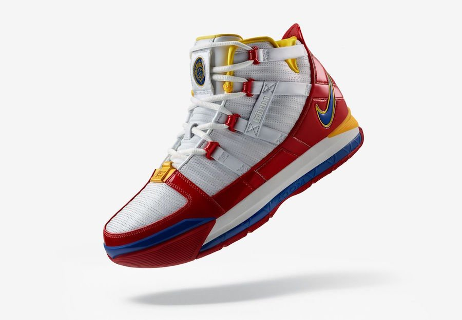 b814bfb4ec1ad Nike LeBron 3 SuperBron SuperMan AO2434-100 Release Date