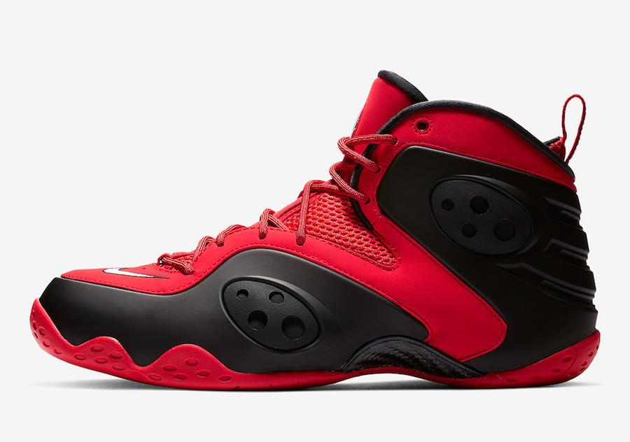Nike Zoom Rookie University Red Black White BQ3379-600