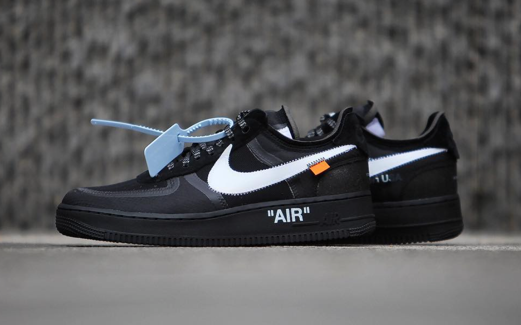 Off-White Nike Air Force 1 Black AO4606-001 Release Date