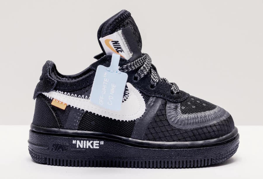 Off-White Nike Air Force 1 Kids Sizing