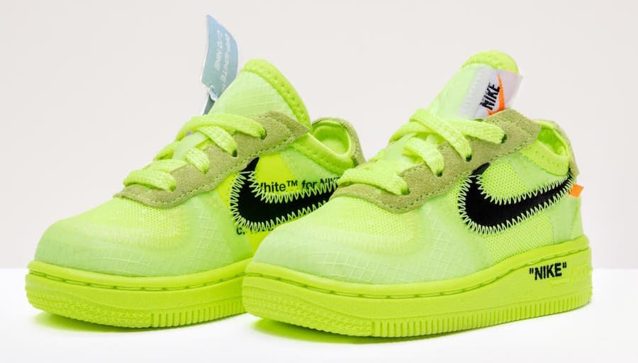 a91d4e57d7 Off-White Nike Air Force 1 Kids Sizing Release Date | SneakerFiles