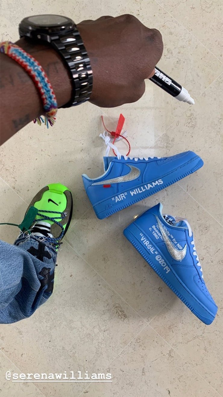 Off-White Nike Air Force 1 Low University Blue Release Info