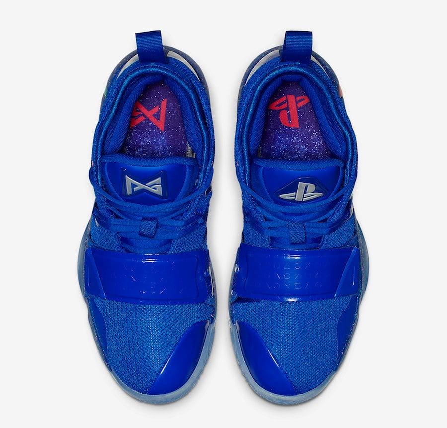 PlayStation Nike PG 2.5 Blue BQ8388-900 Release Date