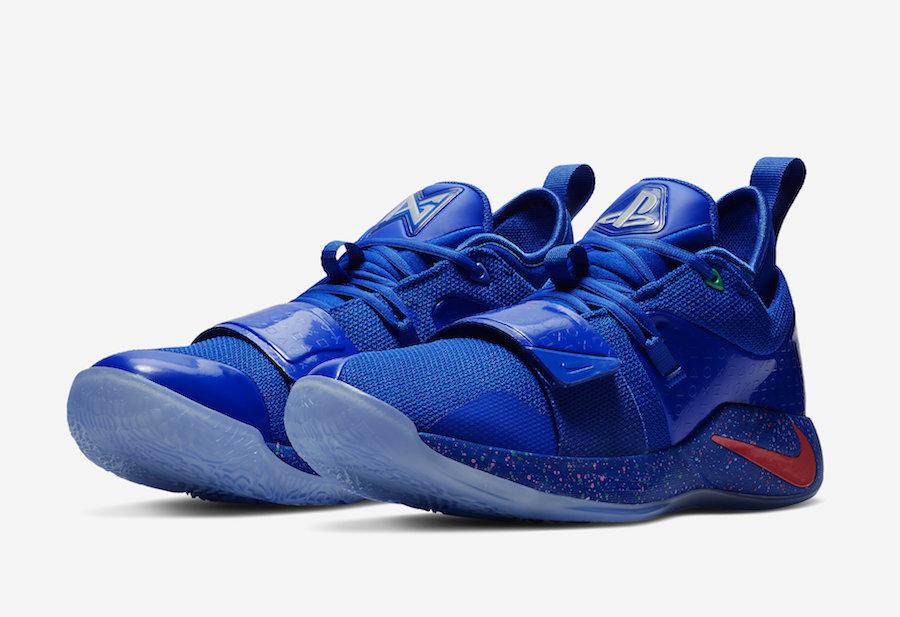 PlayStation x Nike PG 2.5 Releasing in Blue
