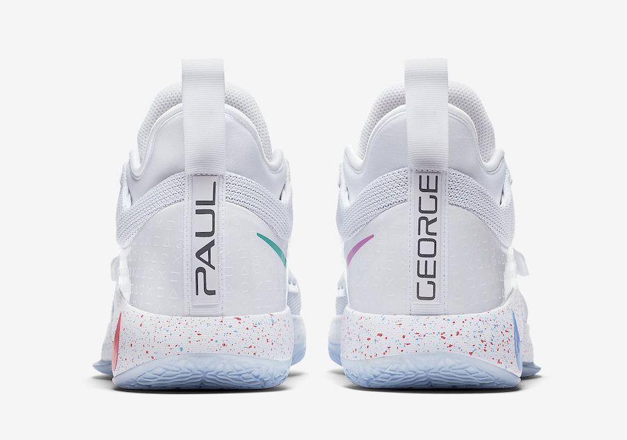 PlayStation Nike PG 2.5 White BQ8388-100 Release Date